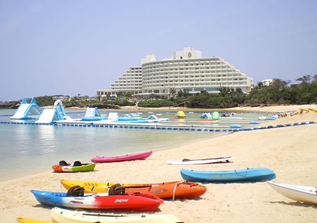 【沖縄ビーチ】子供も楽しめる!ANAインターコンチネンタル万座ビーチリゾート