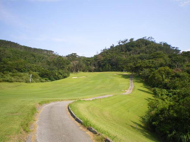 ゴルフ場の写真/沖縄のフリー素材