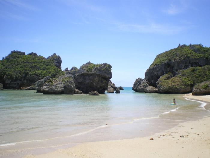 海の写真【2】/沖縄のフリー素材