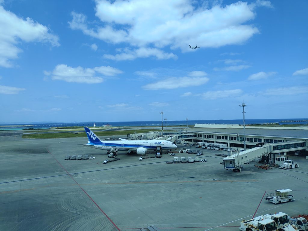 那覇空港から長野県松本空港へ|直行便が無い路線は大変!